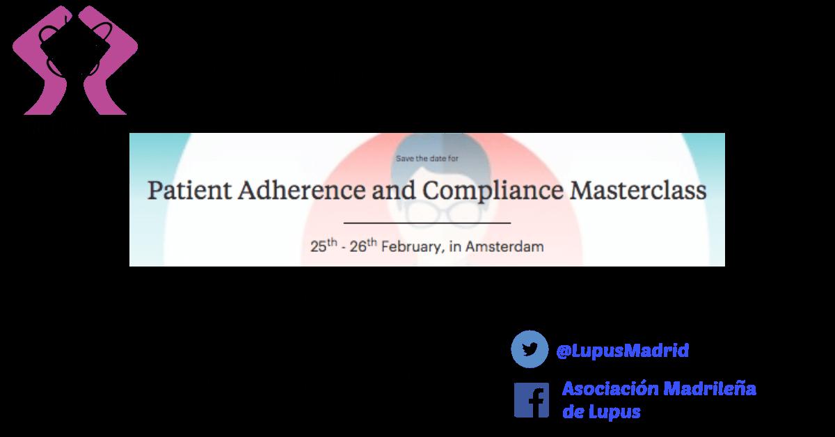Evento Masterclass en Adherencia terapéutica